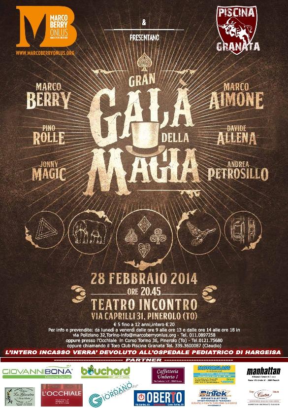 gran gala magia 2014 torino